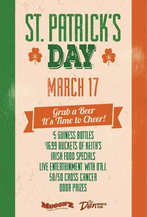St Patrick's Day - Thursday, March 17